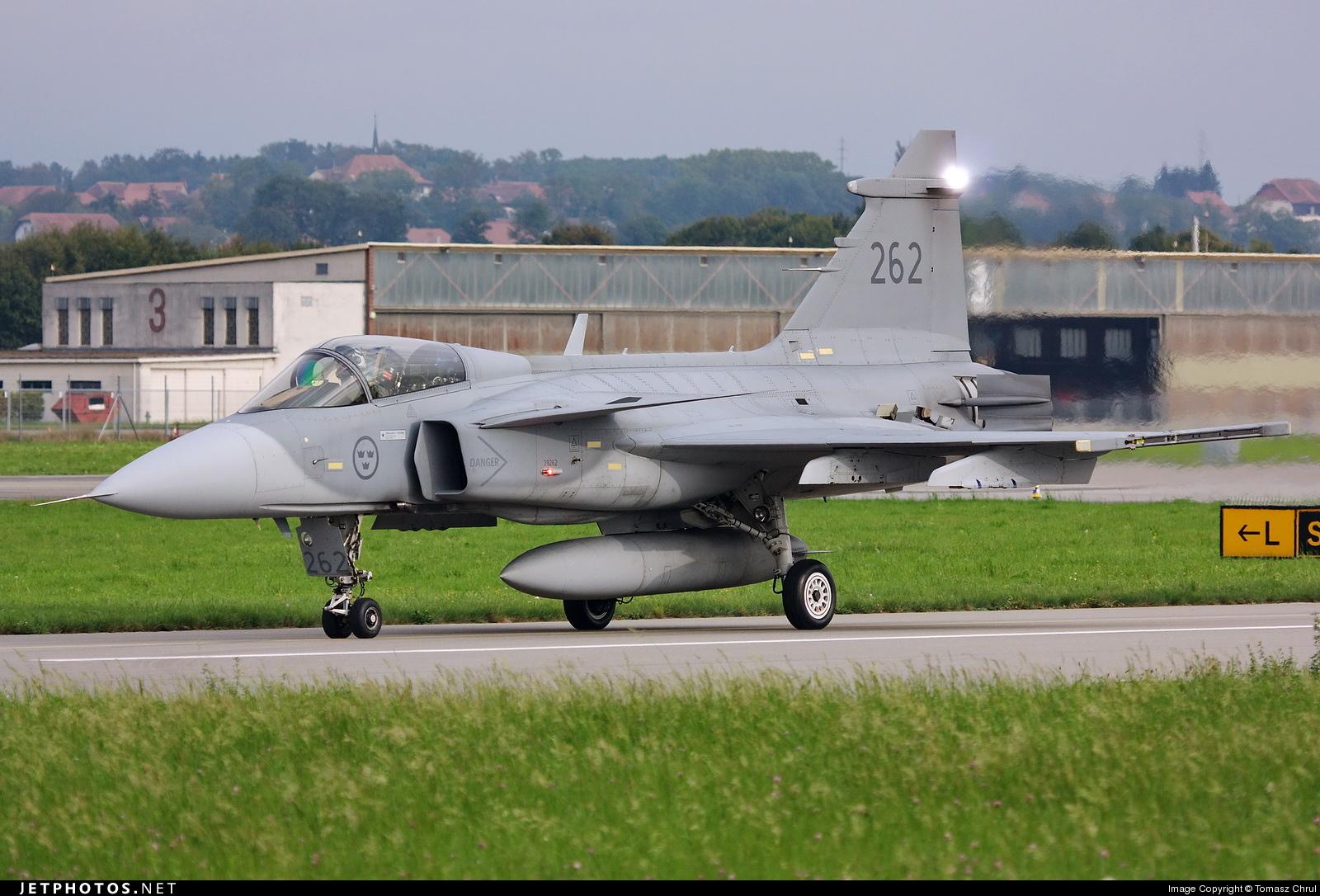 39262 - Saab JAS-39C Gripen - Sweden - Air Force