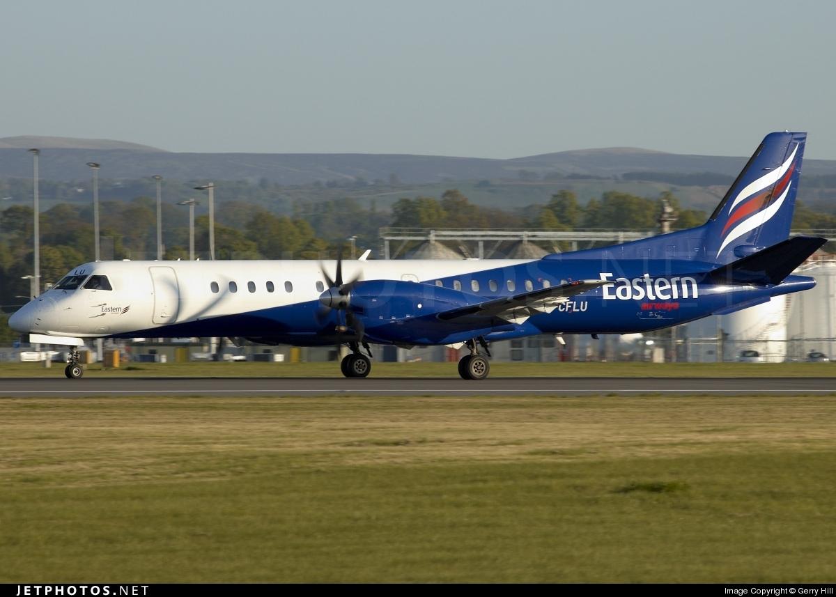 G-CFLU - Saab 2000 - Eastern Airways
