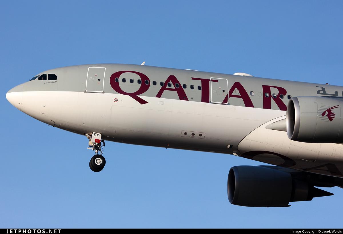 A7-AFP - Airbus A330-203 - Qatar Airways