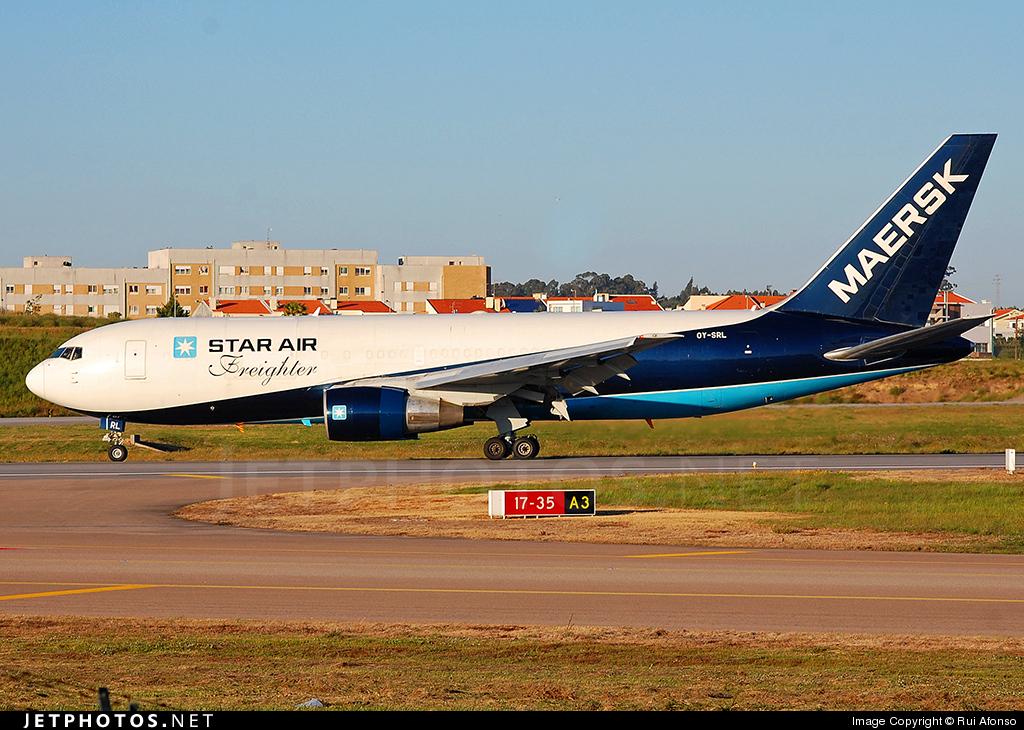 OY-SRL - Boeing 767-232(BDSF) - Star Air
