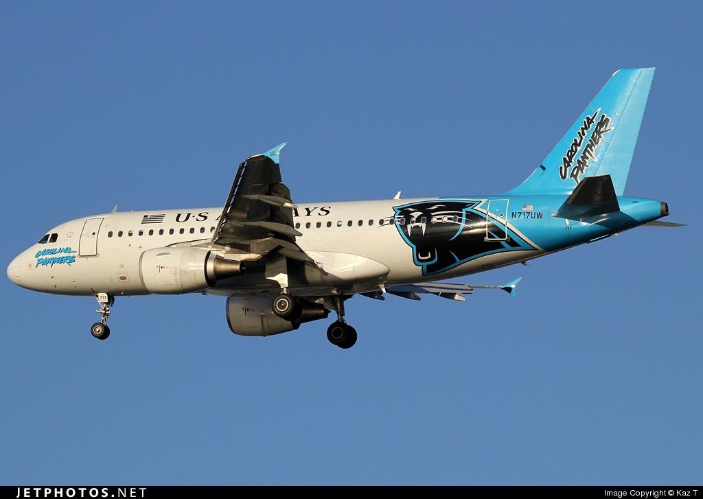 N717UW - Airbus A319-112 - US Airways