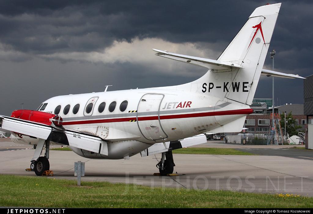 SP-KWE - British Aerospace Jetstream 32 - Jet Air