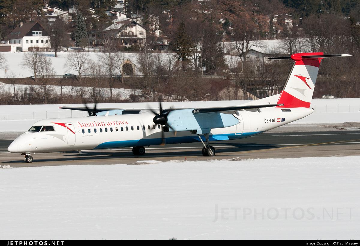 OE-LGI - Bombardier Dash 8-Q402 - Austrian Arrows