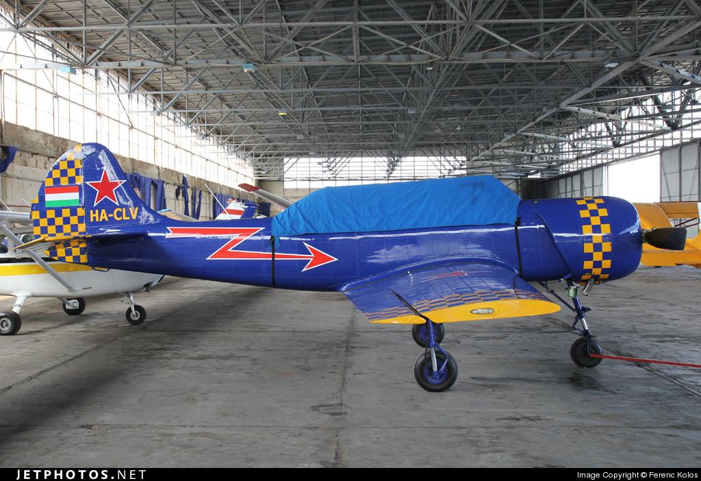 HA-CLV - Yakovlev Yak-52 - Private