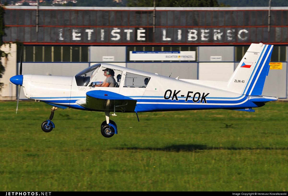 OK-FOK - Zlin 43 - Aero Club - Czech Republic
