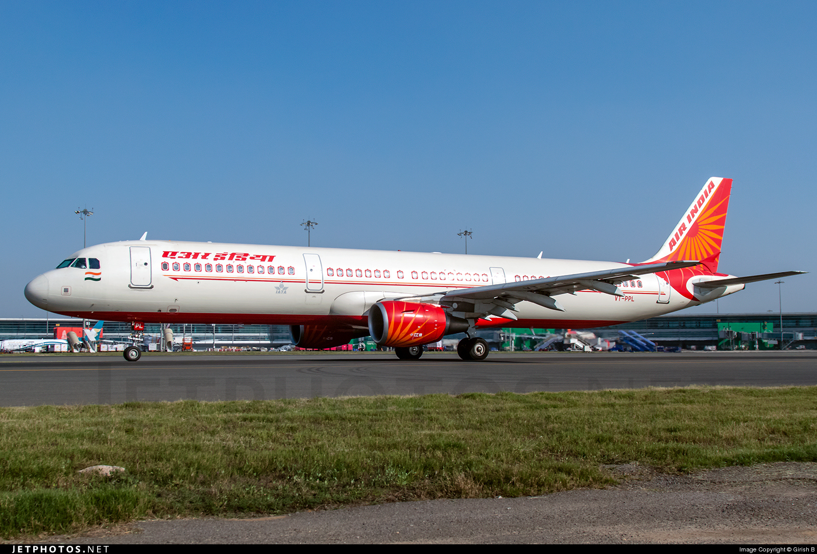 VT-PPL - Airbus A321-211 - Air India