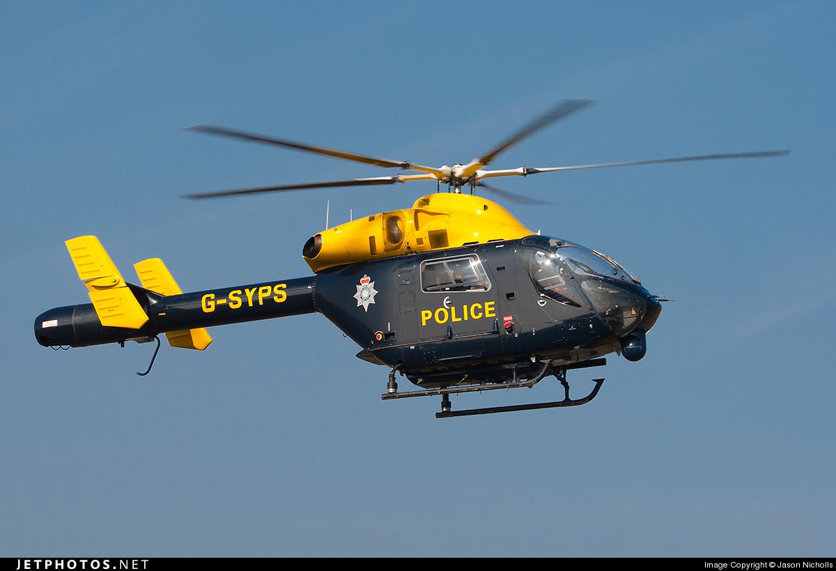 G-SYPS - McDonnell Douglas MD-902 Explorer II - United Kingdom - South Yorkshire Police