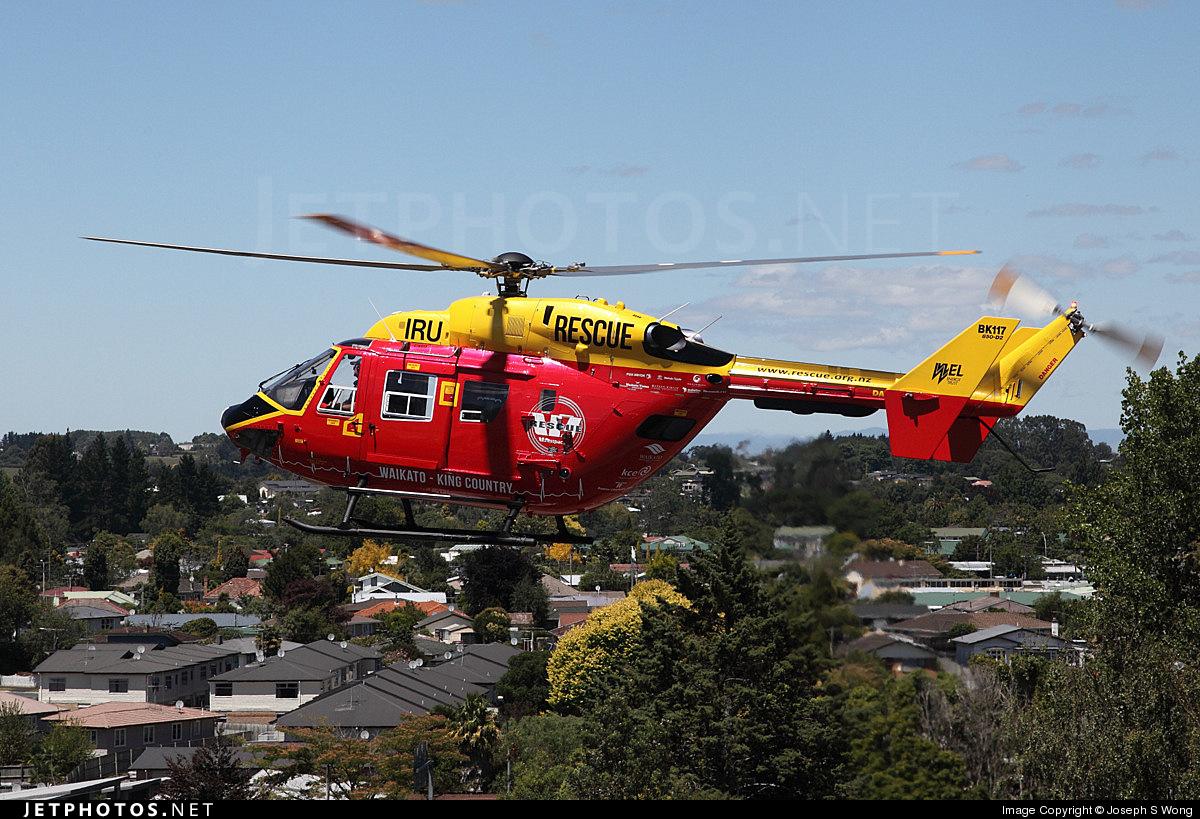 ZK-IRU - MBB-Kawasaki BK117B-2 - Phillips Search & Rescue