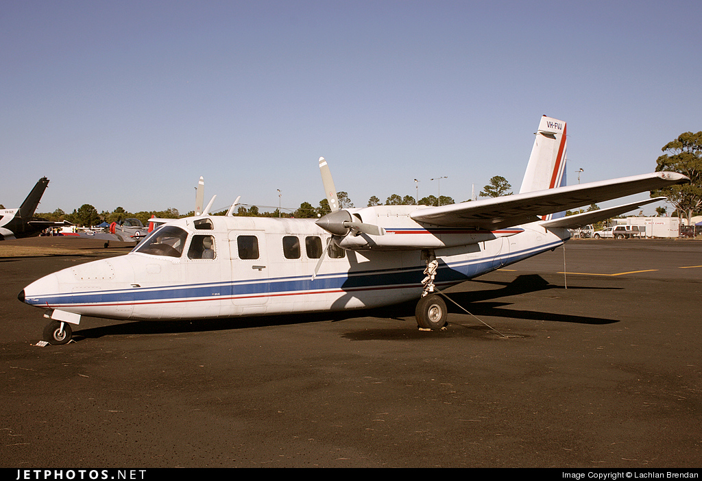 VH-FVJ - Rockwell Commander 685 - Private