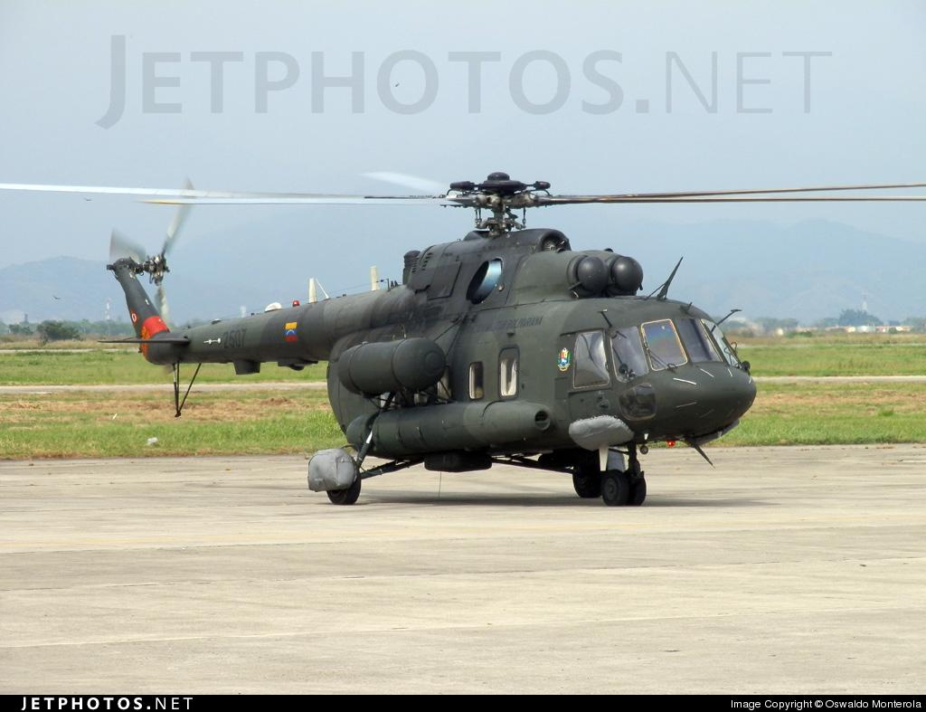2507 - Mil Mi-172 - Venezuela - Air Force