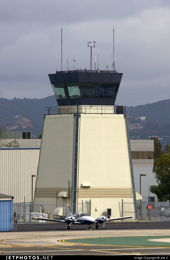 KSMO - Airport - Control Tower
