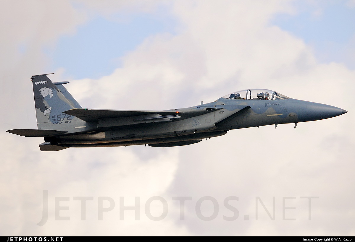 78-0572 - McDonnell Douglas F-15D Eagle - United States - US Air Force (USAF)