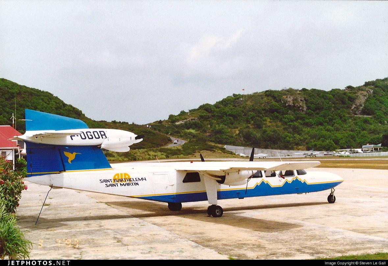 F-OGOR - Britten-Norman BN-2A Mk.III-2 Trislander - Air Saint Barthelemy