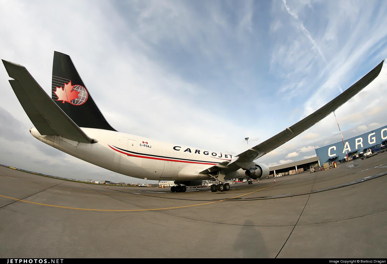 C-FGAJ - Boeing 767-223(SF) - Cargojet Airways