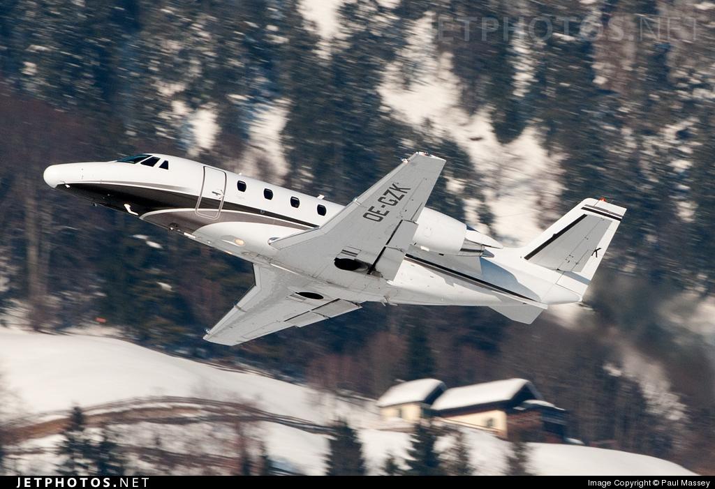 OE-GZK - Cessna 560XL Citation XLS - Avcon Jet