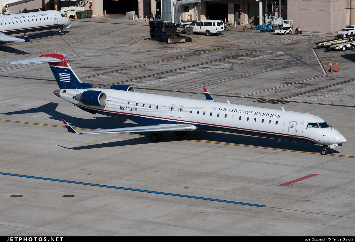N912FJ - Bombardier CRJ-900ER - US Airways Express (Mesa Airlines)