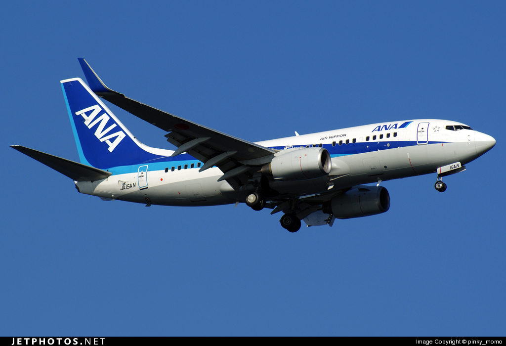 JA15AN - Boeing 737-781 - All Nippon Airways (ANA)