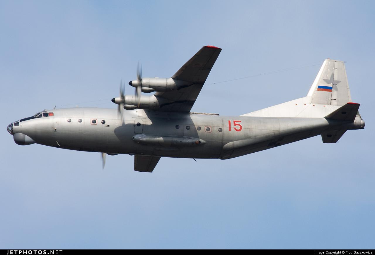 15 - Antonov An-12BK - Russia - Air Force