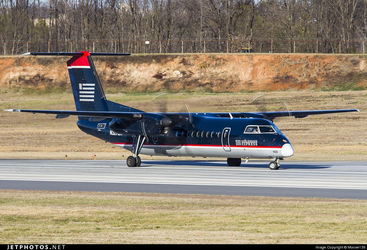N327EN - Bombardier Dash 8-311 - US Airways Express (Piedmont Airlines)