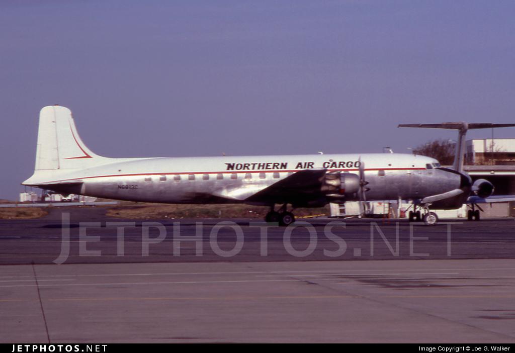 N6813C - Douglas DC-6A Liftmaster - Northern Air Cargo (NAC)