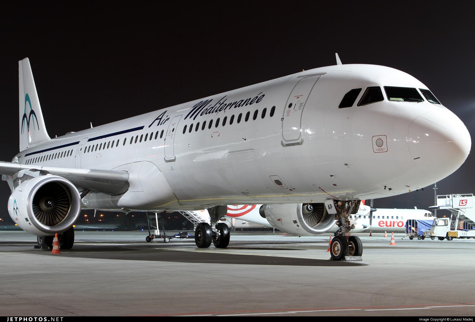 F-GYAP - Airbus A321-111 - Air Méditerranée