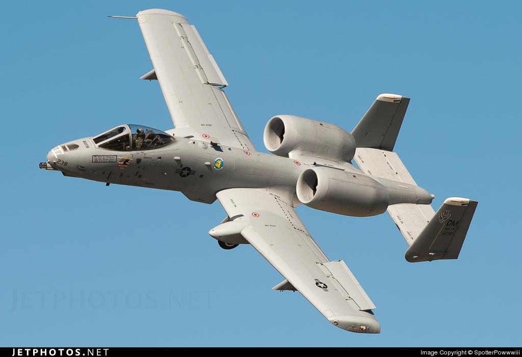 80-0238 - Fairchild A-10C Thunderbolt II - United States - US Air Force (USAF)