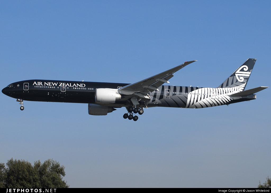 ZK-OKQ - Boeing 777-319ER - Air New Zealand