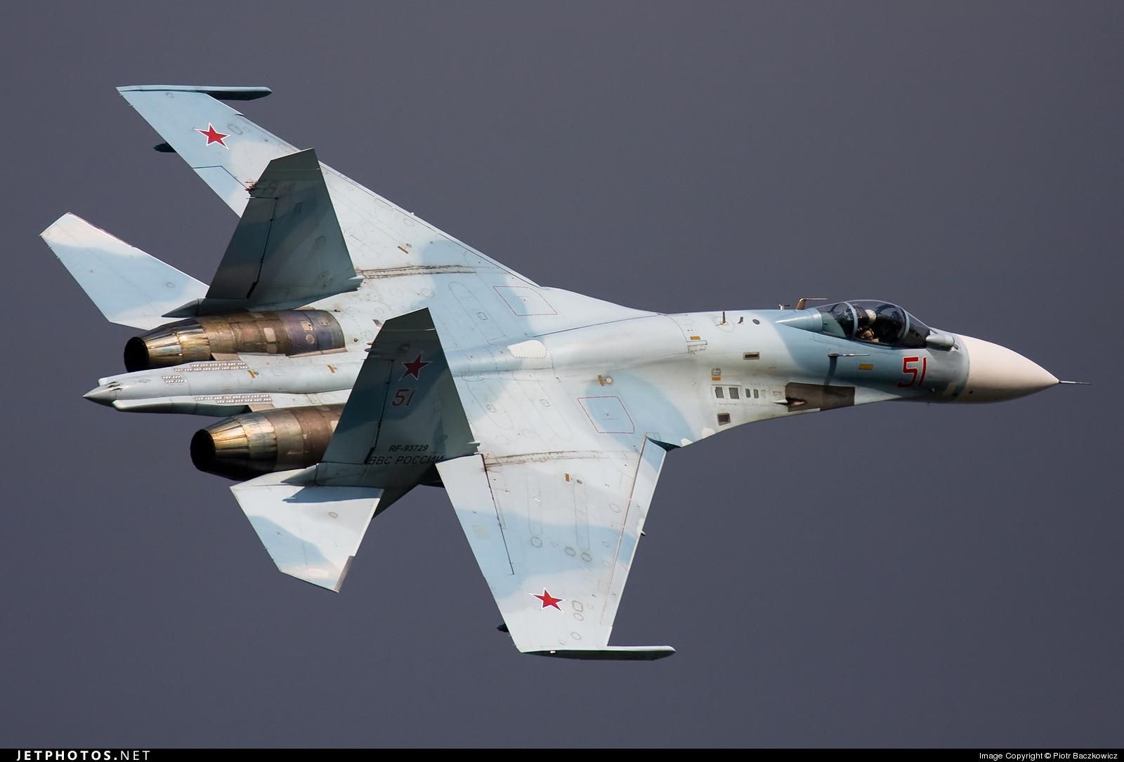 RF-93729 - Sukhoi Su-27SM3 Flanker B - Russia - Air Force