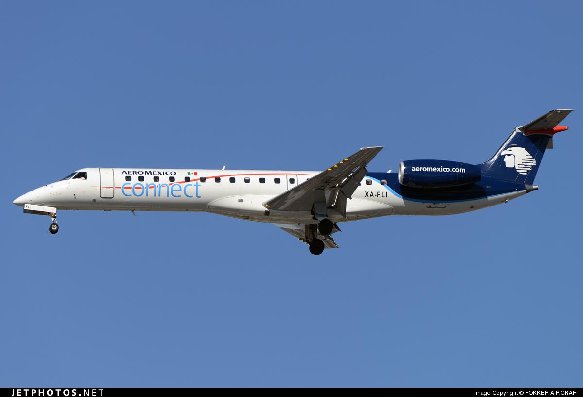 XA-FLI - Embraer ERJ-145MP - Aeroméxico Connect (Aerolitoral)