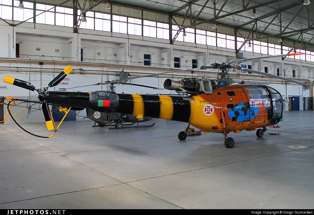 19372 - Sud-Est SE.3160 Alouette III - Portugal - Air Force