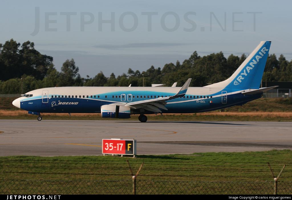 EI-DCL - Boeing 737-8AS - Ryanair