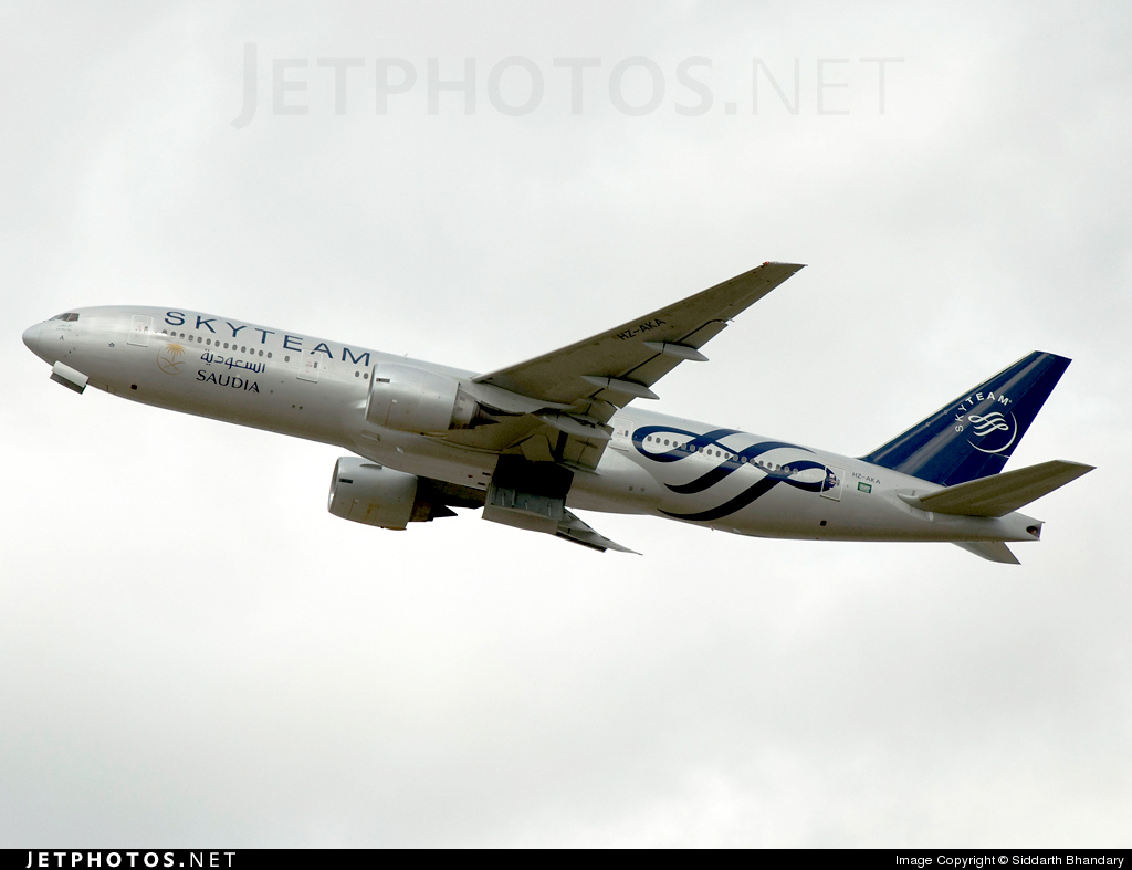HZ-AKA - Boeing 777-268(ER) - Saudi Arabian Airlines