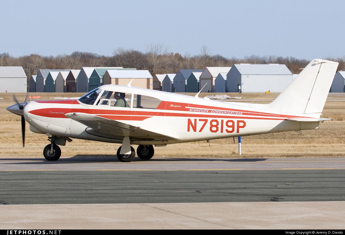 N7819P - Piper PA-24-180 Comanche - Private