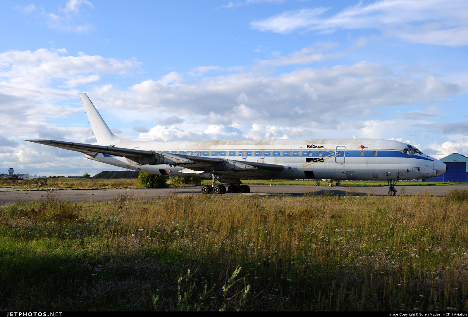 LN-PIP - Douglas DC-8-33 - Private