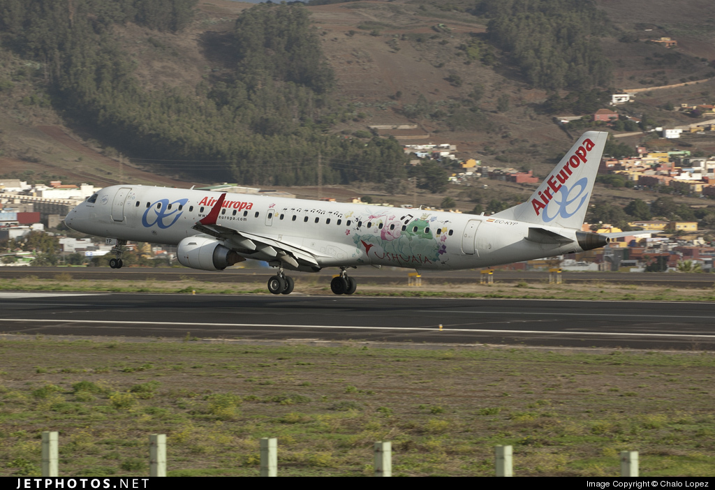 EC-KYP - Embraer 190-200LR - Air Europa