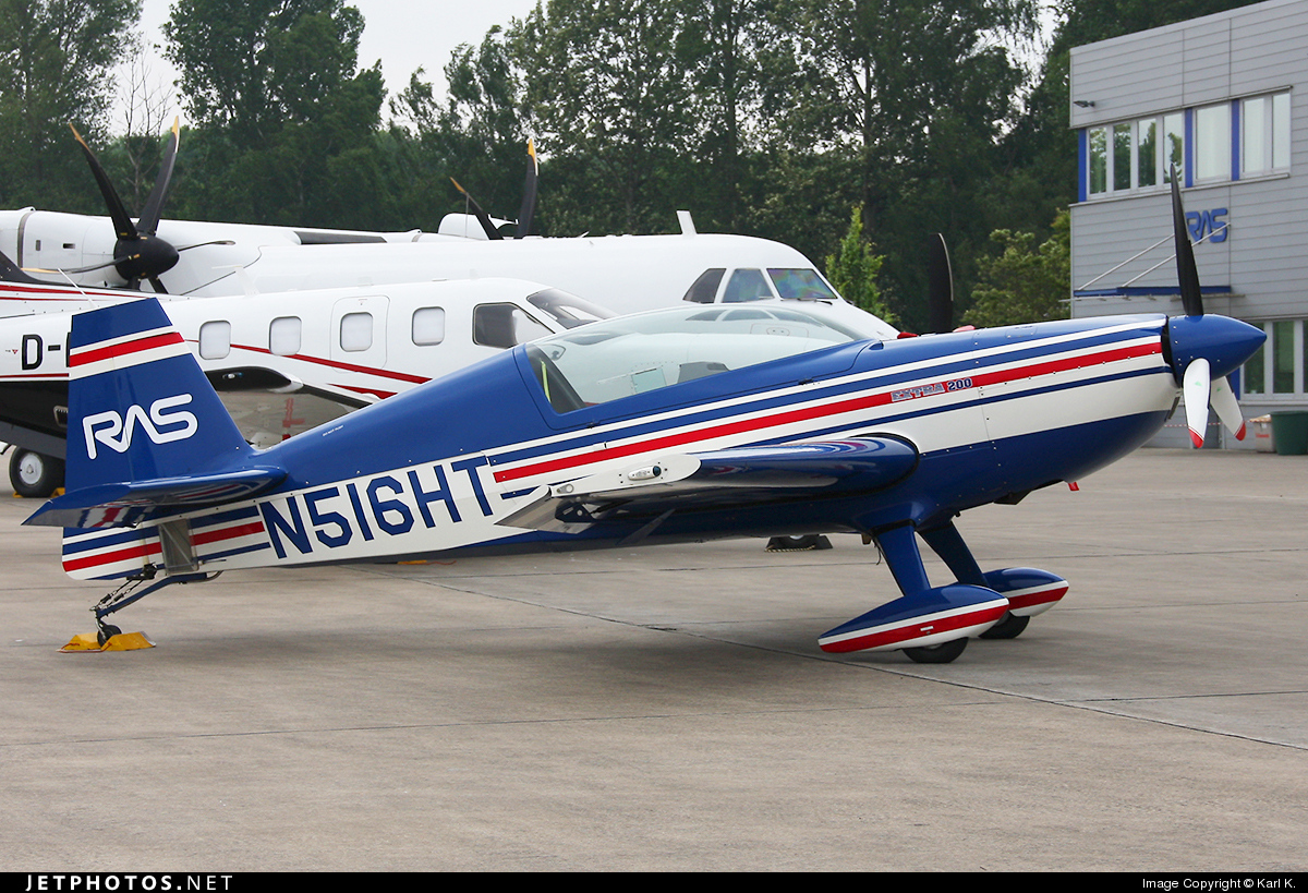 N516HT - Extra 200 - Private