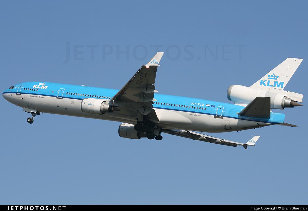 PH-KCK - McDonnell Douglas MD-11 - KLM Royal Dutch Airlines