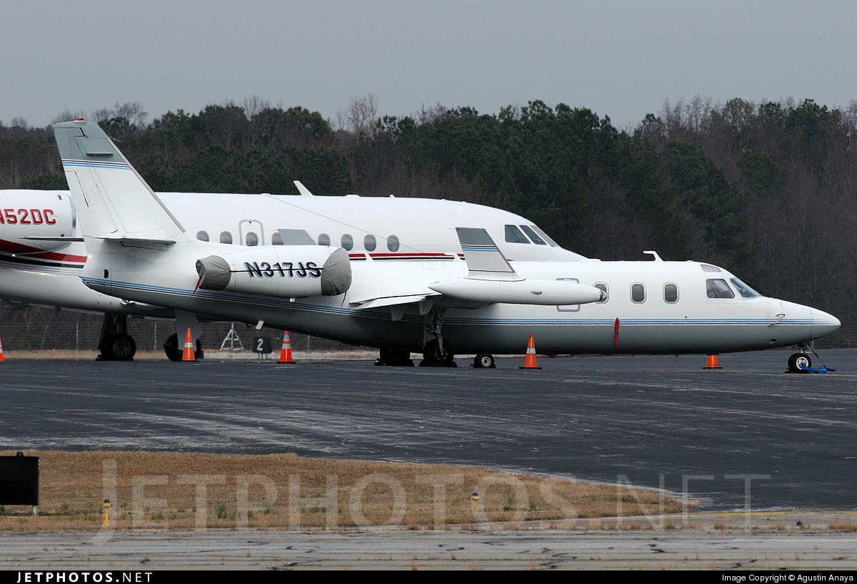 N317JS - IAI 1124A Westwind II - West Air
