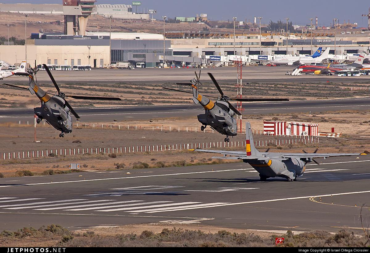 HD.21-7 - Aérospatiale AS 332B Super Puma - Spain - Air Force