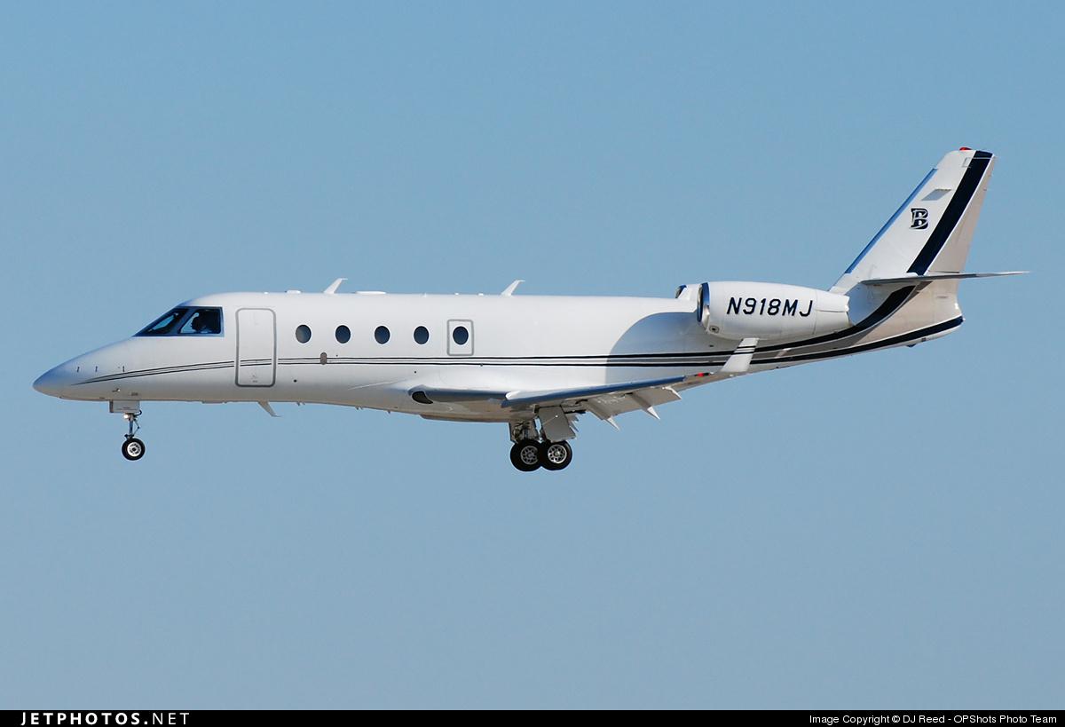 N918MJ - Gulfstream G150 - Private