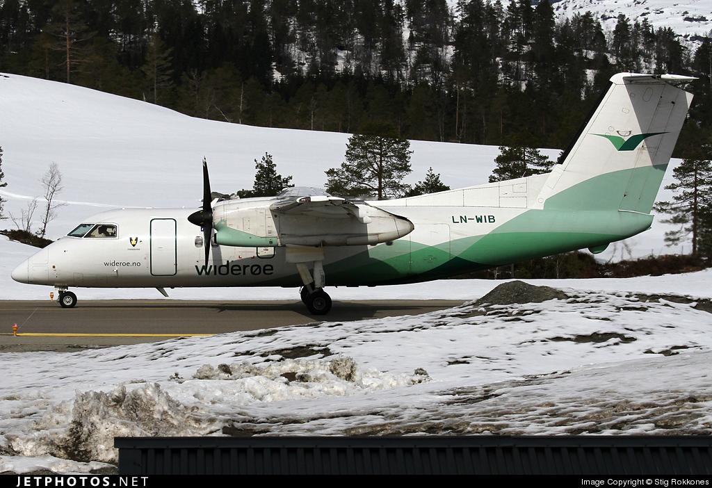 LN-WIB - Bombardier Dash 8-103 - Widerøe