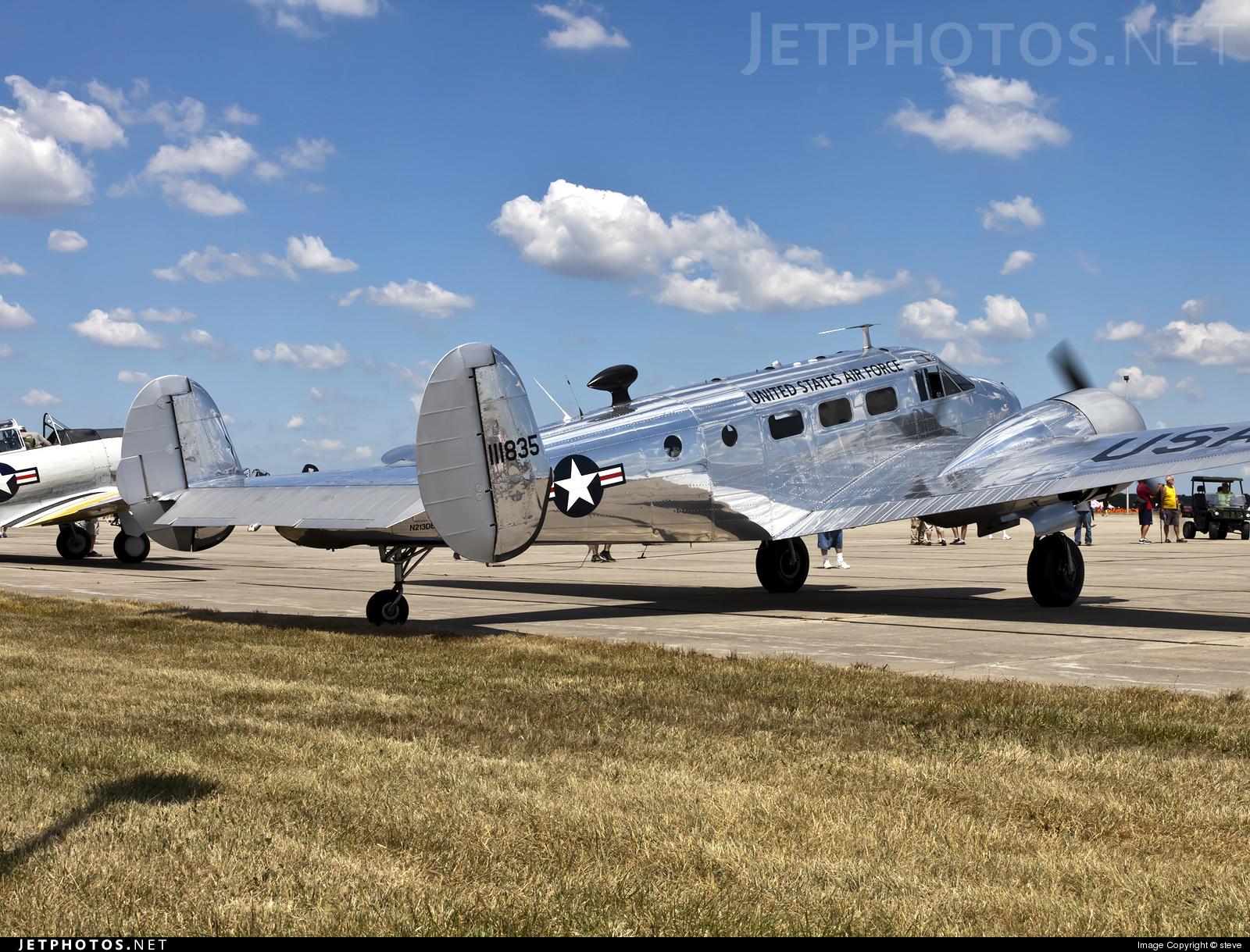 N213DE - Beechcraft C-45H Expeditor - Private