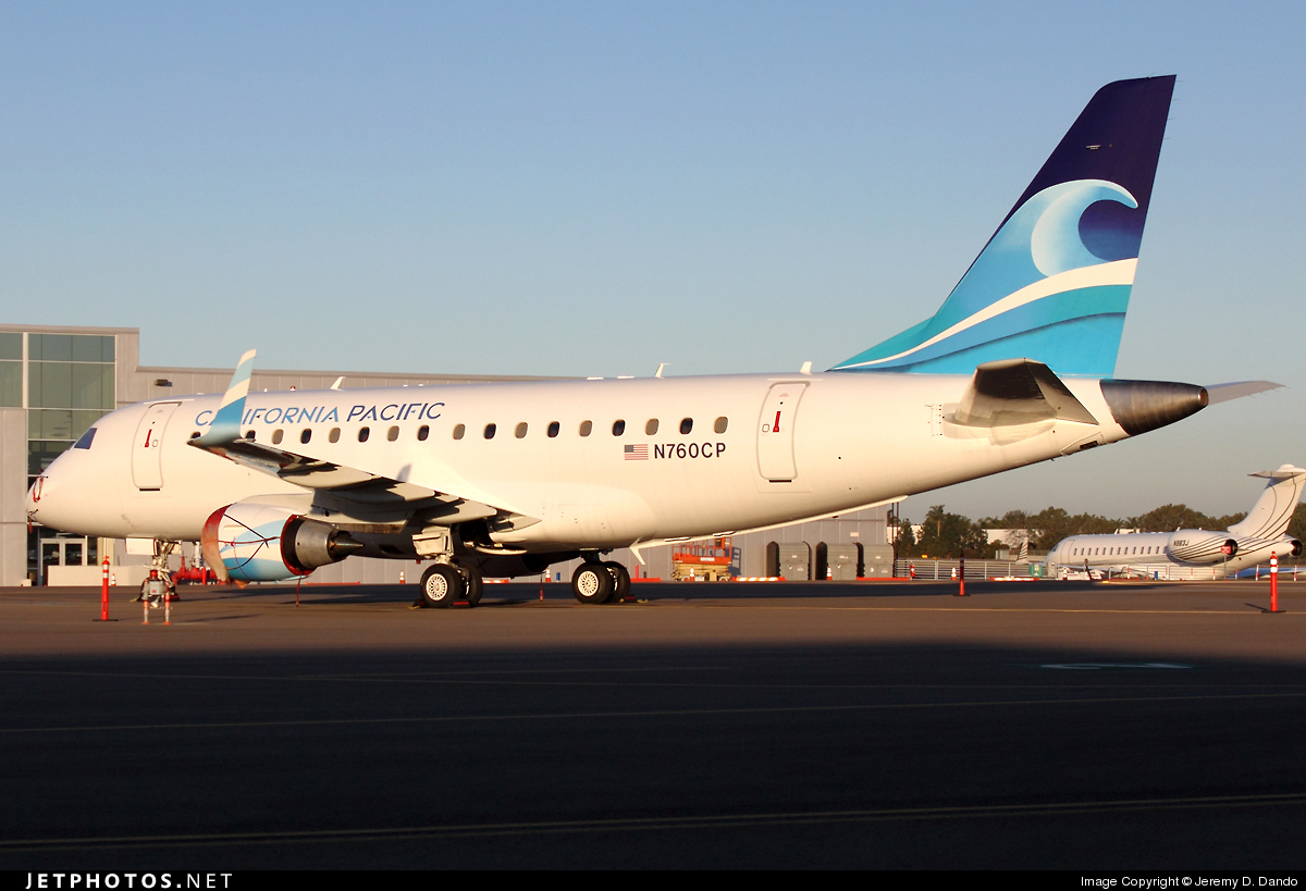 N760CP - Embraer 170-100LR - California Pacific Airlines