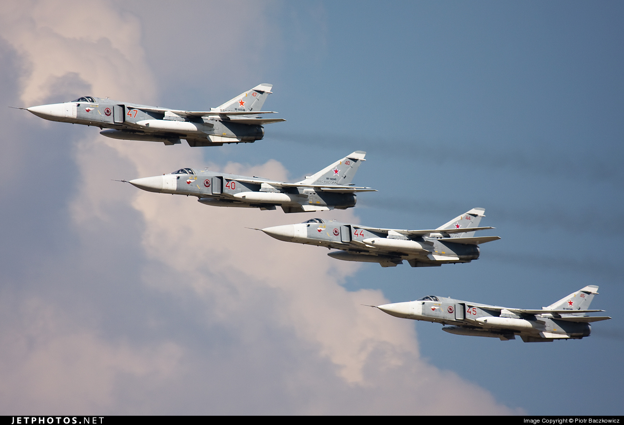 RF-92249 - Sukhoi Su-24M2 Fencer - Russia - Air Force