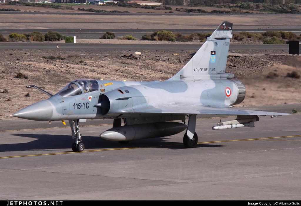 118 - Dassault Mirage 2000C - Netherlands - Navy