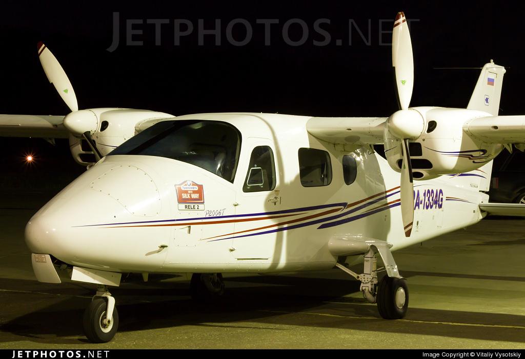 RA-1334G - Tecnam P2006T - Chelavia