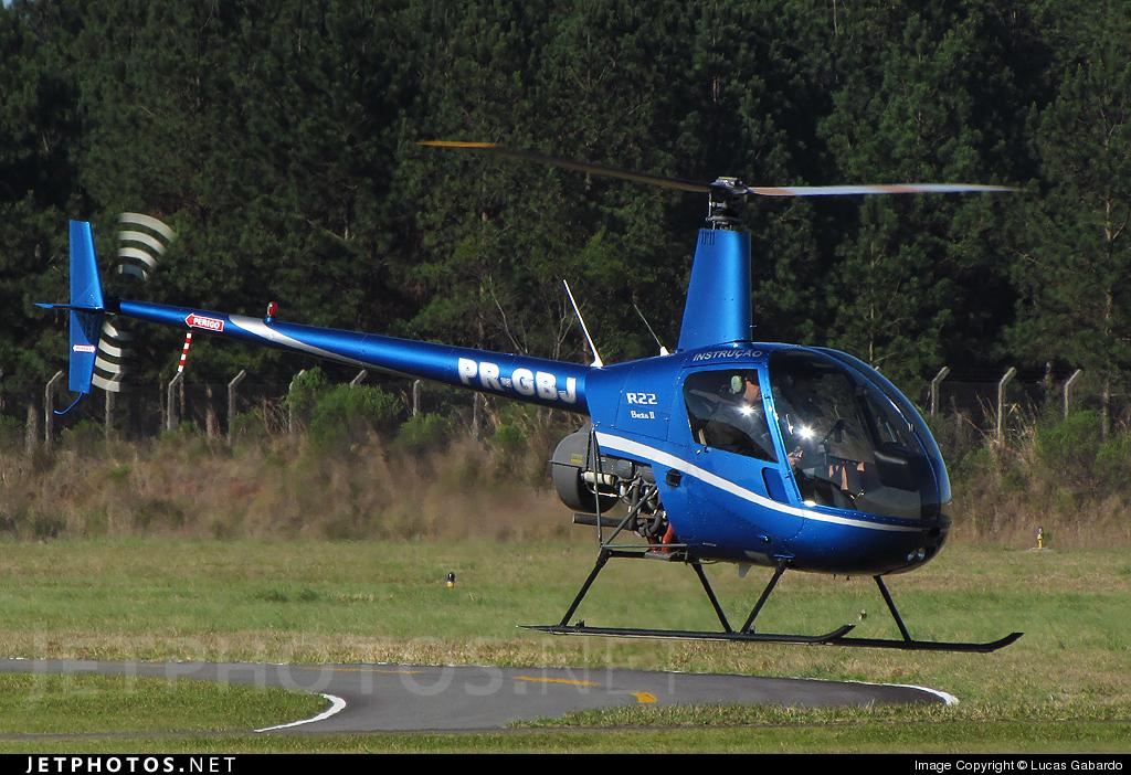PR-GBJ - Robinson R22 Beta II - Aerocon Flight School