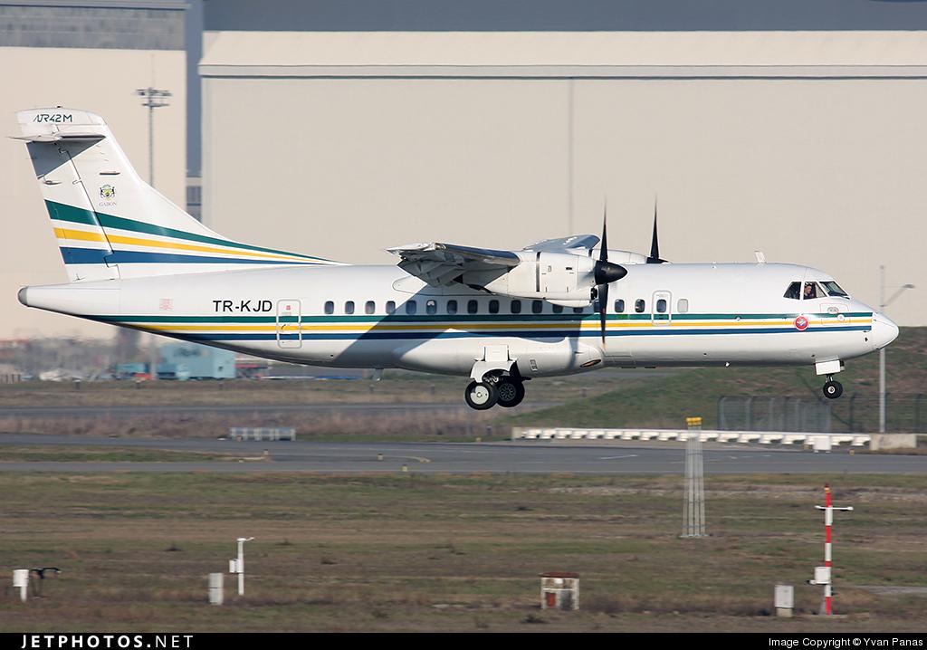 TR-KJD - ATR 42-300 - Gabon - Government