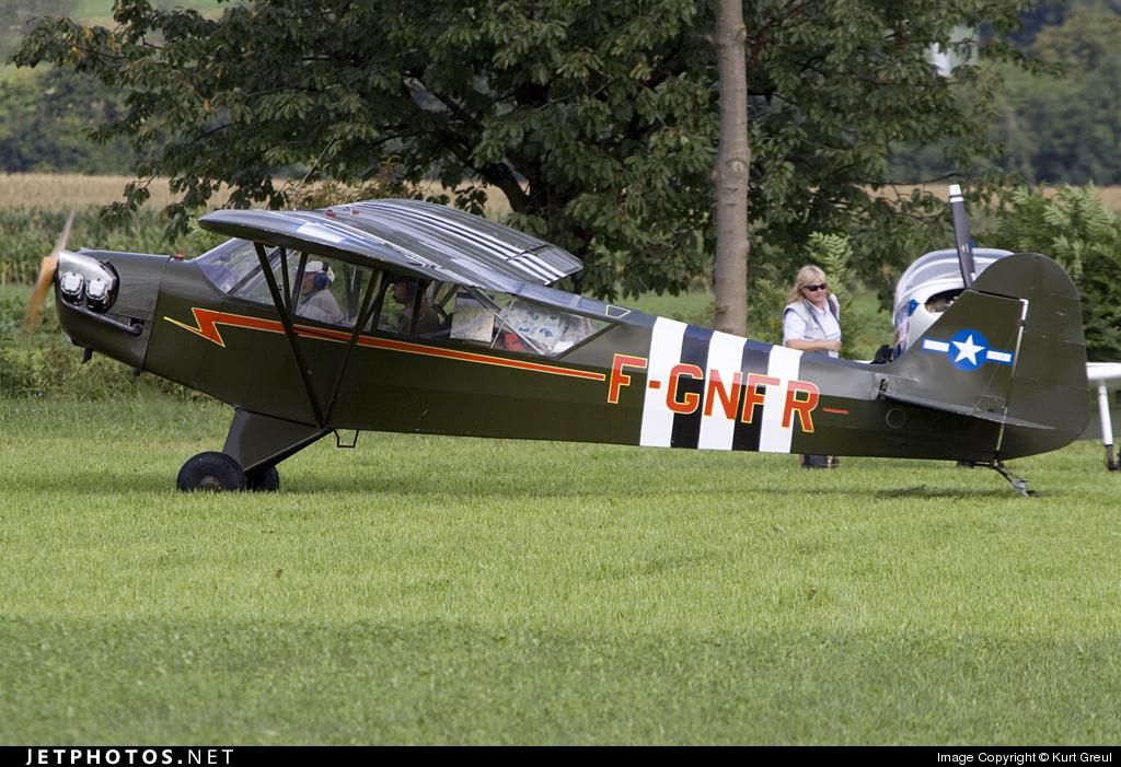F-GNFR - Piper L-4H Cub - Private