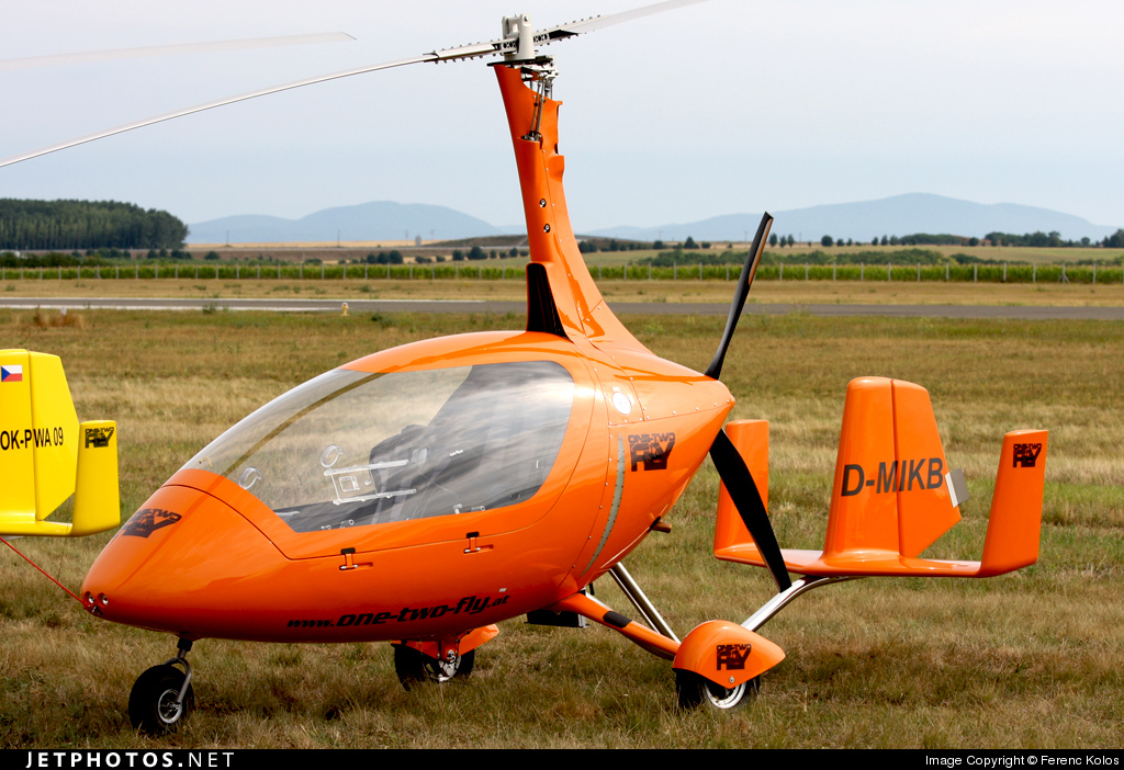 D-MIKB - Autogyro Europe Calidus Fern - Private